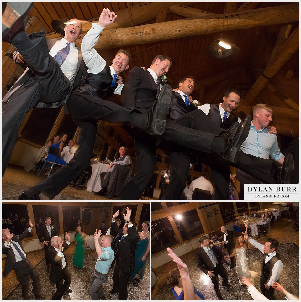 winter park wedding lodge at sunspot dancing