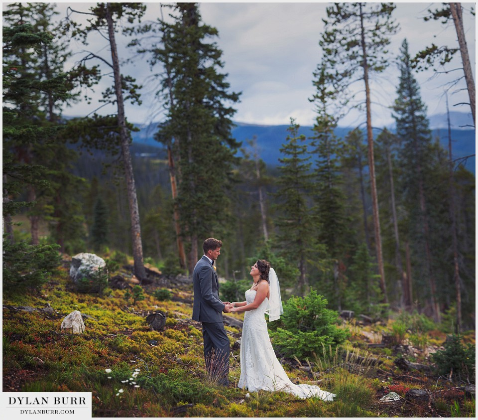 winter park colorado wedding lodge bride groom sunspot fall