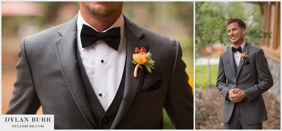 winter park wedding groom details boutineer