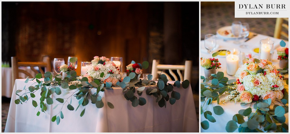 winter park wedding table decoration bella calla lodge sunspot