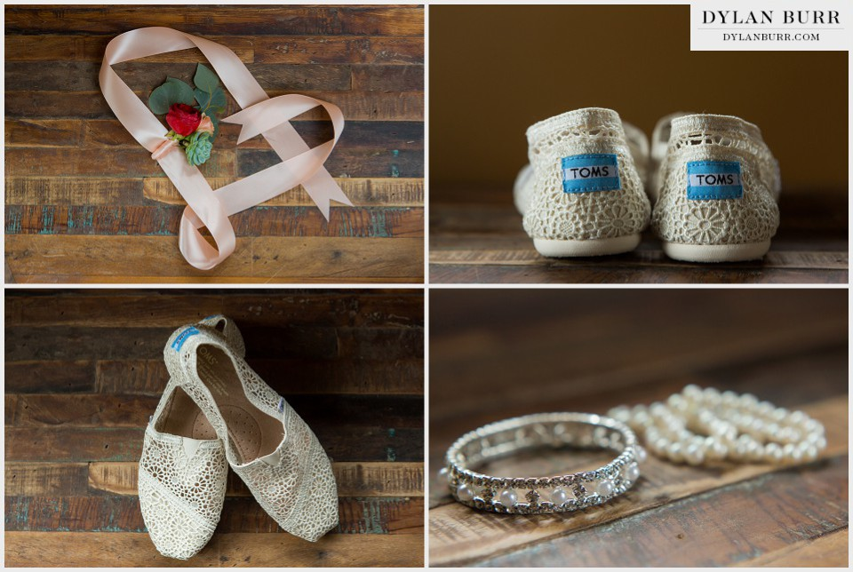 winter park wedding toms details slippers bridal