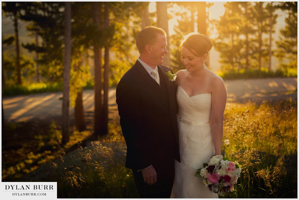 winter park wedding sunspot sunset photos mountains