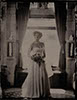 wedding tintype of bride at cherokee ranch and castle